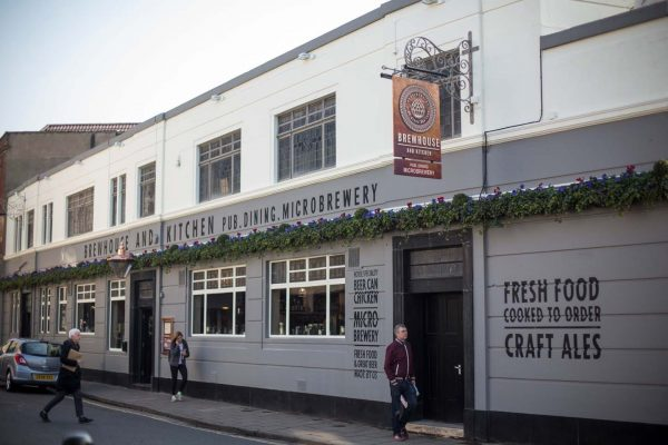 An exterior photo of Brewhouse & Kitchen in Bristol